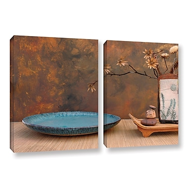 ArtWall Zen Still Life by Elena Ray 2 Piece Photographic Print on Wrapped Canvas Set