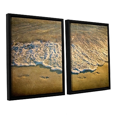 ArtWall At Waters Edge by Antonio Raggio 2 Piece Framed Photographic Print on Canvas Set