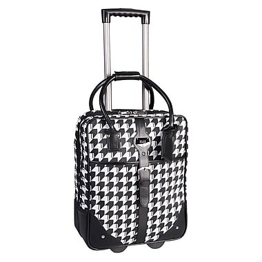 ELLE Rolling Carry-On Briefcases with Computer Padded Sleeve