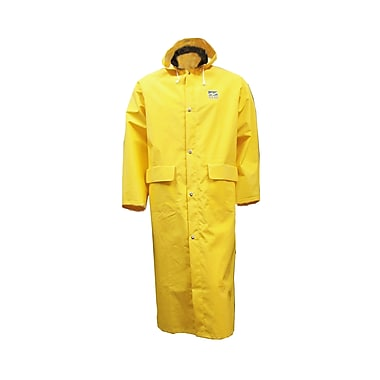 Open Road – Long manteau industriel léger, 3x grand, jaune