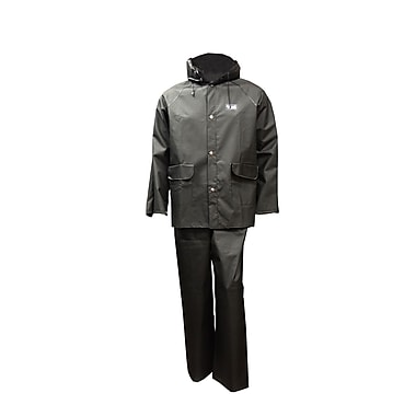 Viking Handyman PVC Rain Suit, 2X-Large, Black