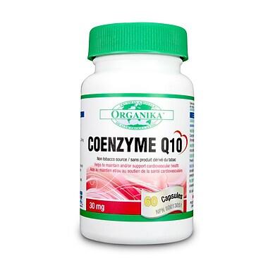 Organika® Coenzyme Q10 Capsules, 6 x 60/Pack