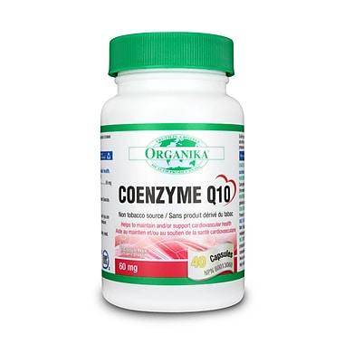 Organika® Coenzyme Q10 Capsules, 6 x 40/Pack