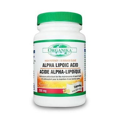 Organika® Alpha Lipoic Acid Capsules, 2 x 120/Pack