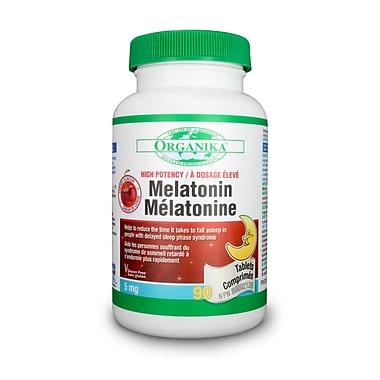 Organika® Melatonin Cherry Tablets, 3 x 90/Pack