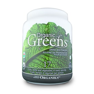 Organika® Organic Greens Certified Powder, 300g/Pack