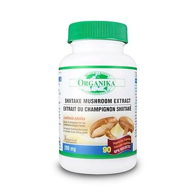 Organika® Mushroom Extract Shiitake Vegetarian Capsules, 3 x 90/Pack