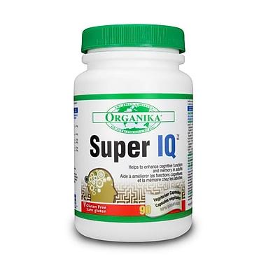 Organika® Super IQ Mental Alertness Support Vegetarian Capsules, 4 x 90/Pack