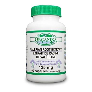 Organika® Valerian Capsules, 4 x 90/Pack