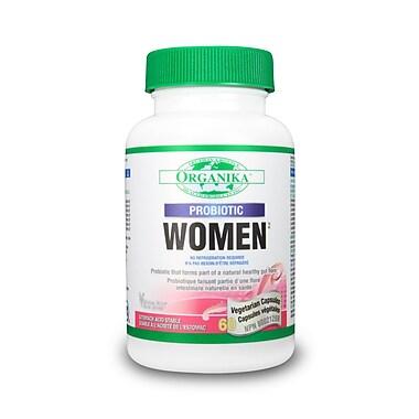 Organika® Probiotic Women Vegetarian Capsules, 3 x 60/Pack