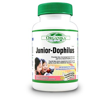 Organika® Junior-dophilus Vegetarian Capsules, 3 x 90/Pack