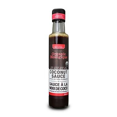 Organika® Coconut Sauce Certified Organic +, 4 x 250ml/Pack