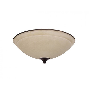 Emerson Fans Ashton Wet Amber Mist Light Fixture; Venetian Bronze