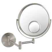 Jerdon Dual Sided Wall Mount Mirror w/ Spot Mirror