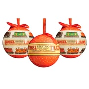 Lionel Outdoor Series 1 Ornament Set (Set of 3)
