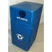 Forte Product Solutions 42 Gallon Recycling Bin; Blue
