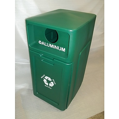 Forte Product Solutions 42 Gallon Recycling Bin; Green