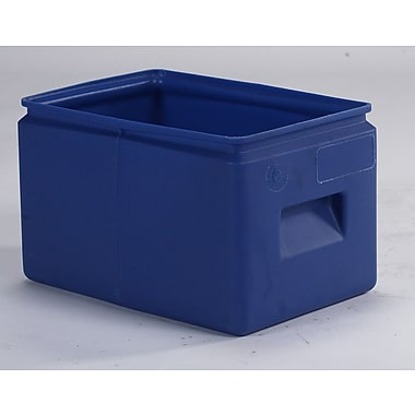 Forte Product Solutions All-Purpose Cubby Bin (Set of 12); Blue