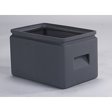 Forte Product Solutions All-Purpose Cubby Bin (Set of 12); Gray