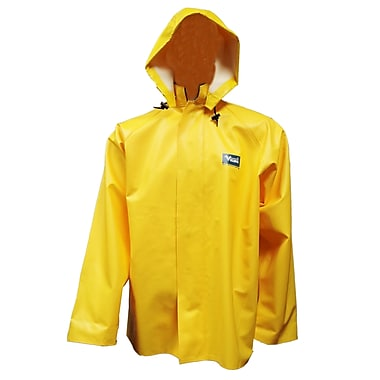 Viking Journeyman PVC Rain Jacket, Small, Yellow