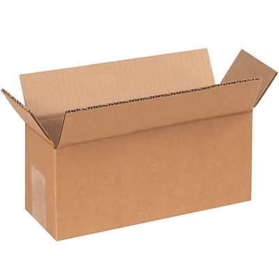 09'' x 4'' x 3'' Standard Corrugated Shipping Box, 200#/ECT, 25/Bundle (943)