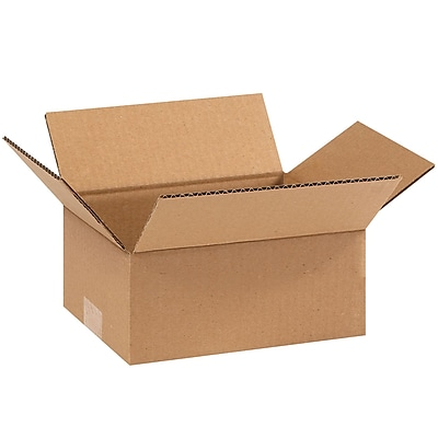 09'' x 7'' x 3'' Shipping Box, 200#/ECT, 25/Bundle (973)