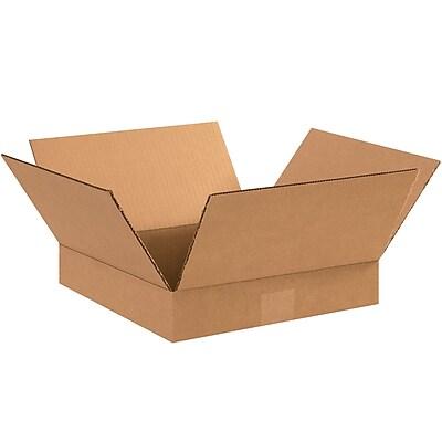 12'' x 12'' x 2'' Shipping Box, 200#/ECT, 25/Bundle (12122)