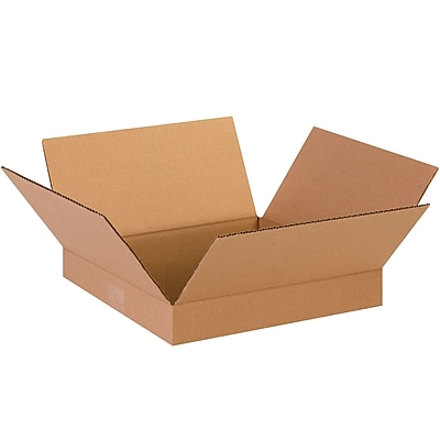 13'' x 13'' x 2'' Shipping Box, 200#/ECT, 25/Bundle (13132)