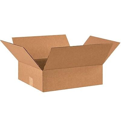 14''x12''x3'' Shipping Box, 200#/ECT, 25/Bundle (14123R)