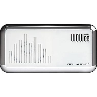 WOWee One – Haut-parleur portatif Classic, blanc chrome