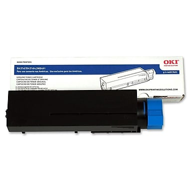 Okidata 44917601 Black Toner Cartridge, Extra High Capacity