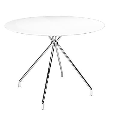 Kanto – Table ronde Artika de 39,4 po, blanc