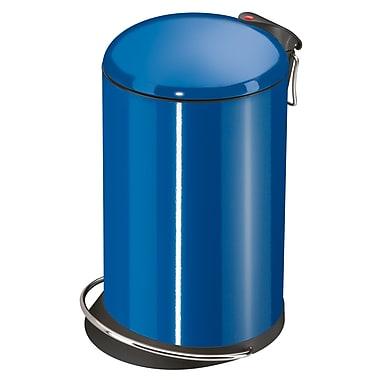 Hailo USA Inc. Trento 4 Gallon Step On Trash Can; Capri Blue