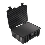B&W Type 6000 Outdoor Case w/ SI Foam; Black