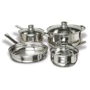 Concord 7 Piece Polished Stainless Steel Cookware Set