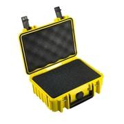 B&W Type 500 Outdoor Case w/ SI Foam; Yellow