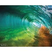 Magic Slice Maui Mirror Tube by Randy Jay Braun Non-Slip Flexible Cutting Board; 12'' L x 15'' W