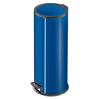 Hailo USA Inc. Steel 6 Gallon Step On Trash Can; Capri Blue