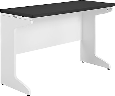 Altra Pursuit Bridge/Work Table, White/Gray