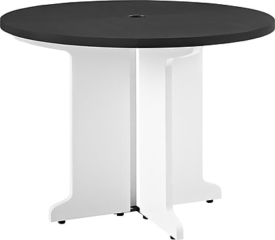 Altra Pursuit Round Table, White/Gray