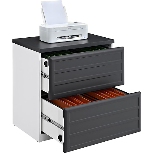 Altra Pursuit 2 Drawer Lateral File Whiteletterlegal 2949w