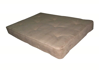 DHP 5422096 Microfiber Futon Mattress, Tan