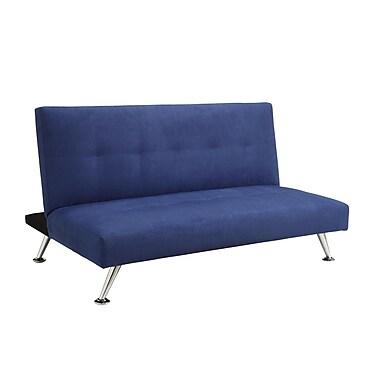 DHP Piccolo 2064619 Microfiber Sofa Lounger, Stadium Blue