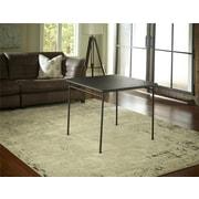 "Cosco 14696BLK1E 34"" Plastic/Steel Folding Table, Black"