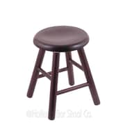 Holland Bar Stool Vanity Stool; Dark Cherry Oak