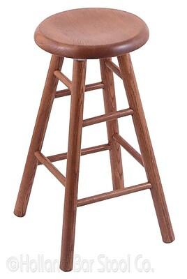 Holland Bar Stool 30'' Swivel Bar Stool; Medium Oak