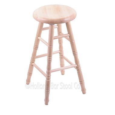 Holland Bar Stool 24'' Swivel Bar Stool; Natural Maple