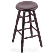 Holland Bar Stool 24'' Swivel Bar Stool; Dark Cherry Oak