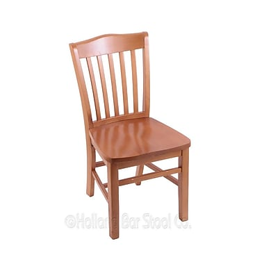 Holland Bar Stool Solid Wood Dining Chair; Medium