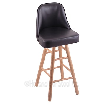 Holland Bar Stool Grizzly 24'' Swivel Bar Stool; Natural Oak